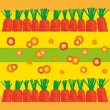 Fondo de la zanahoria Foto de archivo libre de regalías