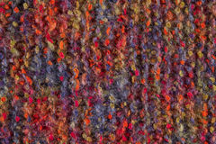 Fondo de lana de la textura, tela hecha punto de las lanas, materia textil melenuda Imagen de archivo
