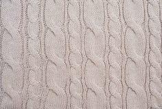 Fondo de lana hecho punto Imagenes de archivo