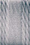 Fondo de lana hecho punto Fotografía de archivo libre de regalías
