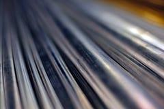 Fondo de las barras de metal Fotos de archivo