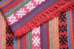 Fondo de las bufandas Imagen de archivo libre de regalías
