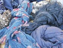 Fondo de las bufandas Imagenes de archivo