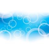 Fondo de las burbujas Imágenes de archivo libres de regalías