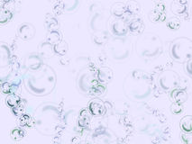 Fondo de las burbujas Foto de archivo
