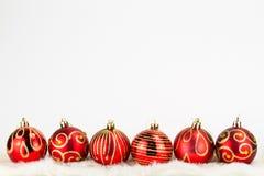 Fondo de las chucherías de la Navidad Fotos de archivo libres de regalías