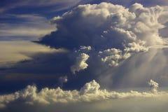 fondo de las Cielo-nubes Imagen de archivo