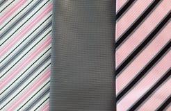 Fondo de las corbatas Foto de archivo libre de regalías
