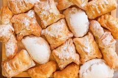 Fondo de las empanadas dulces Imagen de archivo
