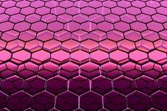 Fondo de las estructuras de enrejado hexagonales, similar a los panales imágenes de archivo libres de regalías