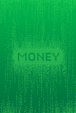 Fondo de las finanzas de Digitaces Imagen de archivo libre de regalías