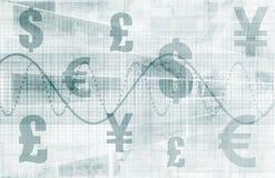 Fondo de las finanzas del asunto ilustración del vector