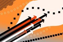Fondo de las flechas del vector libre illustration