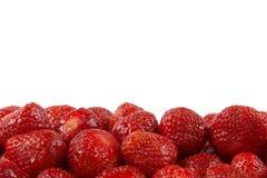 Fondo de las fresas Imagen de archivo libre de regalías