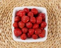 Fondo de las fresas Foto de archivo libre de regalías