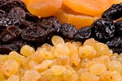 Fondo de las frutas secadas Fotos de archivo libres de regalías