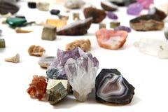 Fondo de las gemas del color foto de archivo libre de regalías