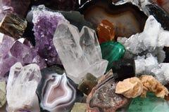 Fondo de las gemas del color Imagen de archivo