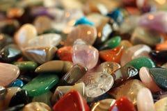 Fondo de las gemas del color Fotografía de archivo