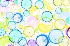 Fondo de las gotas Imagen de archivo libre de regalías