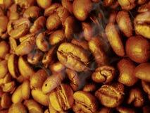 Fondo de las habas de Coffe Imagenes de archivo