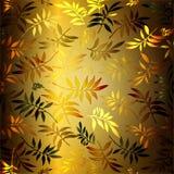Fondo de las hojas ilustración del vector