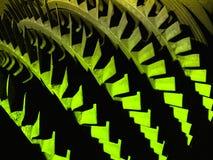 Fondo de las láminas de turbina Imágenes de archivo libres de regalías