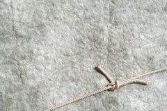 Fondo de las lanas con la cuerda Imágenes de archivo libres de regalías