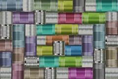 Fondo de las latas de la variedad Imagen de archivo libre de regalías