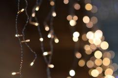Fondo de las luces de hadas Fotografía de archivo
