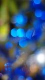 Fondo de las luces de la Navidad Foto de archivo libre de regalías