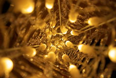 Fondo de las luces de la Navidad de Abstarct Imagen de archivo libre de regalías
