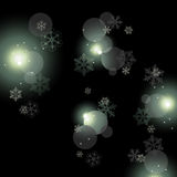 Fondo de las luces que brilla Imagen de archivo libre de regalías