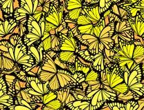 Fondo de las mariposas stock de ilustración