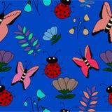 Fondo de las mariposas Imagenes de archivo