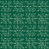 Fondo de las matemáticas ilustración del vector