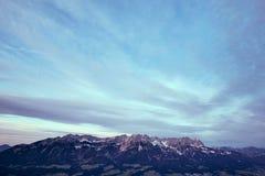 Fondo de las montañas Fotos de archivo