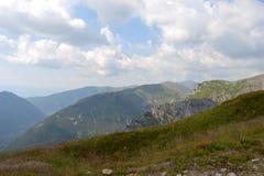 Fondo de las montañas, montañas de Tatra, Polonia Fotografía de archivo