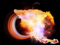 Fondo de las nebulosas del diseño Imagen de archivo