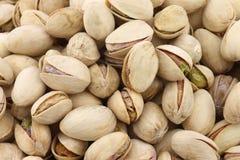Fondo de las nueces de pistacho Fotos de archivo