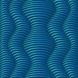 Fondo de las ondas del cuerpo libre illustration