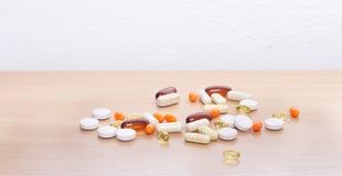 Fondo de las píldoras Imagen de archivo