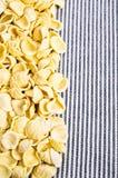 Fondo de las pastas secas Foto de archivo libre de regalías