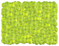 Fondo de las pelotas de tenis stock de ilustración