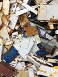 Fondo de las piezas de metal Imagen de archivo libre de regalías