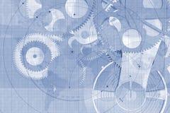 Fondo de las piezas de precisión libre illustration
