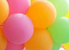 Fondo de las pompas de jabón con textura del extracto de las burbujas de aire Fotos de archivo libres de regalías