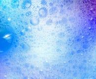 Fondo de las pompas de jabón con textura del extracto de las burbujas de aire Fotografía de archivo