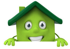 Fondo de las propiedades inmobiliarias stock de ilustración