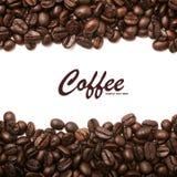 Fondo de las rayas de los granos de café Fotos de archivo